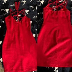 New red dress size XS